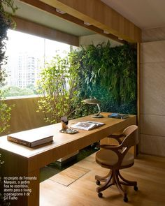 vertical garden in the office #garden #decor