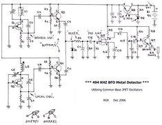 نتیجه تصویری برای how to make arduino under ground gold detector Dc Circuit, Circuit Diagram, Hobby Electronics, Electronics Projects, Metal Detektor, Pulse Induction Metal Detector, Arduino Cnc, Gold Detector, Magnet Fishing