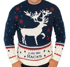 the ultimate ugly christmas sweater round up | ebay  Ronnie would love this :)