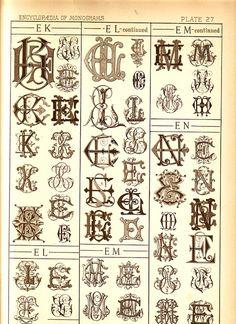 monograms #monograms