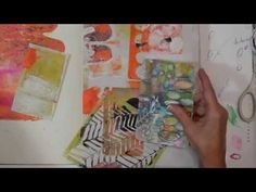 Watch the Process Art Journaling - In His Hands - YouTube