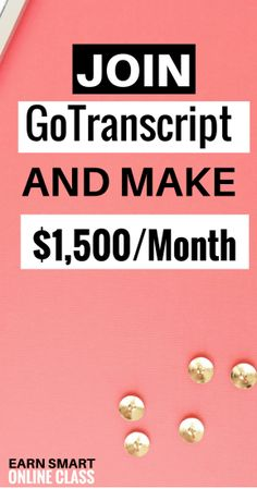 Gotranscript is an audio transcription service company that hires beginners to work from home with no prior transcription experience. It is a worldwide online-only transcription opportunity with flexible working hours. You do not need to work at a certain time or a set schedule. This work at home transcription job allows you to work whenever you want, however much you want. This is a plus because most online workers love making money but also enjoy spending time with their loved ones.