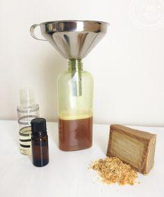 Gel douche au savon d'Alep (spécial peaux sensibles) - Gel douche savon -