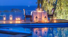 Petra Hotel & Suites in the charming fishing village of Grikos on the Greek Island of Patmos. Hotel Suites, Luxury Suites, Days Hotel, Small Luxury Hotels, Greek Isles, Fishing Villages, Outdoor Areas, World Heritage Sites, Hotels And Resorts