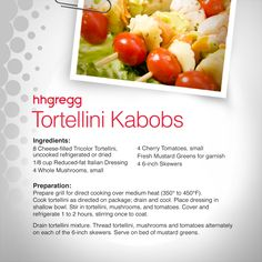 Searching for a new dish to take to a picnic or barbeque? These Tortellini Kabobs are a refreshing summer appetizer that will please all of your guests! #FoodieFriday