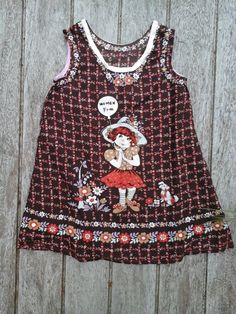 vintage girl dress flowerpower collectors item new from grandmas inventory unique new mint girls clothing suffragette dress Iconic Dresses, Unique Dresses, Vintage Girls Dresses, Suffragette, Social Trends, New Inventory, Holly Hobbie, Handmade Dresses, Fabric Panels