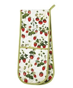 This Strawberry Double Glove Oven Mitt is perfect! #zulilyfinds