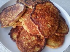 Get Potato Latkes Recipe from Food Network Potato Latkes, Healthy Snacks, Healthy Recipes, Good Food, Yummy Food, Food Network Recipes, Food Inspiration, Food Porn, Lunch