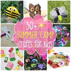 Summer Camp Crafts: Nurture their creative minds with these fun ideas while having fun in the process. From recycled projects to nature crafts and beyond!