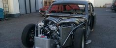 Two-Stroke V8 Turns this Volvo Amazon into a Wacky-Sounding Drag Racing Machine - Video