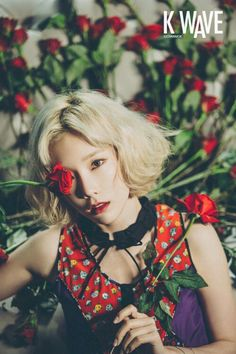 Taeyeon for KWave Magazine March 2016 issue pictorial