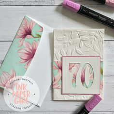 Remarkable You 70th Birthday Card – using Stampin' Blends. – Ink Paper Girl