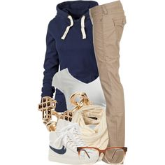 A fashion look from November 2012 featuring blue jersey, keyhole back shirt and low cut pants. Browse and shop related looks. Tomboy Outfits, Tomboy Fashion, Dope Outfits, Swag Outfits, Cute Casual Outfits, Look Fashion, Teen Fashion, Winter Outfits, Fashion Outfits