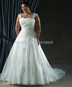 2 piece wedding dresses plus size