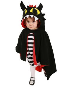 Miccostumes Kids Dragon Little Devil Halloween Cosplay Cloak With Horns Tail One Size * A lot more information can be found at the picture link. (This is an affiliate link). Toothless Costume, Dragon Costume, Devil Halloween, Halloween Cosplay, Full Body Costumes, Dress Up Boxes, Children Costumes, Black Dragon, Old Love