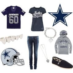 ❦ Outfit -- Dallas Cowboys by robertomartine2033