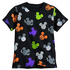 0cd381a4aac Mickey and Minnie Mouse Halloween Family Tee Collection