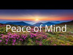 Peace of Mind | Stress Relief | Sleep | Subliminal Affirmations | Isochronic Tones - YouTube