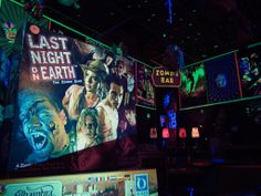 Last Bar on Earth. Zombies want to have fun also!