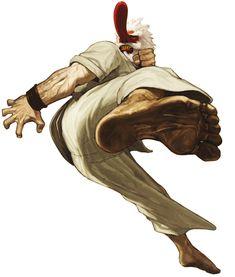 Mr. Karate - Characters & Art - SNK vs. Capcom: SVC Chaos