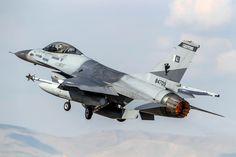 Pakistan Air Force General Dynamics F-16AM Block 15 MLU Fighting Falcon