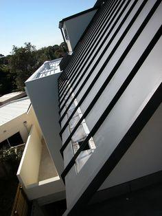 Aluminium roof cladding,  astro snap lock system