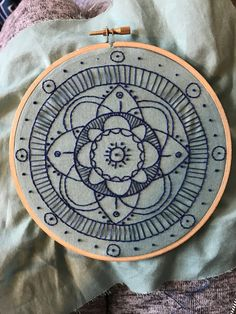 Embroidered Mandala