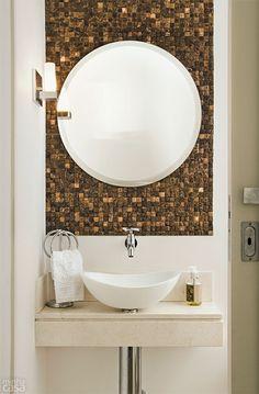 Cinco bancadas que dão personalidade ao banheiro - Casa