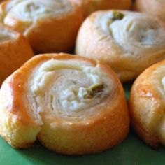 Jalapeno Cream Cheese Crescent Rolls @keyingredient #cheese