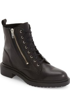 Topshop Ashton Lace-Up Boot (Women) available at #Nordstrom