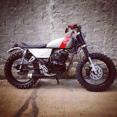 Yamaha Scorpio scrambler