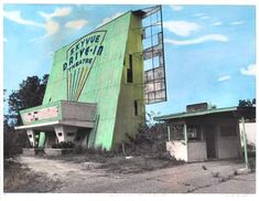 Skyvue Drive-In Theatre, Dothan, AL.  Lots of memories here.