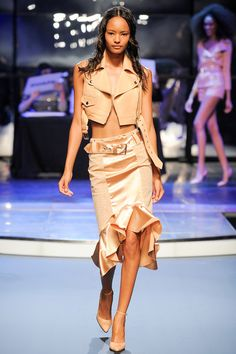 Jean Paul Gaultier Spring 2014 Ready-to-Wear Collection Gaultier at his best with Dancing With The Stars Theme Get Up and Dance!