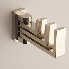 Stunning bathroom hook accessories by Ginger Luxury.