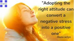 """""""Adopting the right attitude can convert a negative stress into a positive one."""" – Hans Selye #spikerwindows #MotivationalQuotes #motivation #positivethinking"""