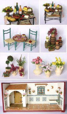 Diorama Miniature Taverna by DinkyWorld on Etsy