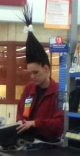 Mousse at Walmart. --Pointy Cone Head