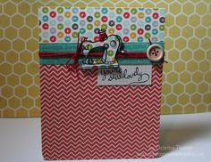 Creations with Christina: Scrappin' on a Dime (February's 1st project)