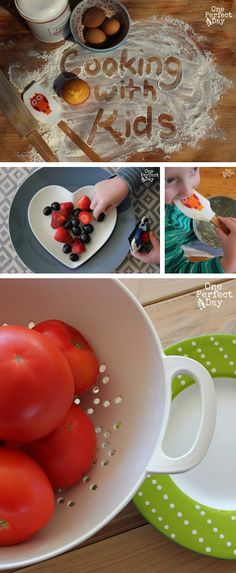 {10 Tips for Encouraging Kids to Cook} *great way to connect and have fun with your kids ... cooking night!!