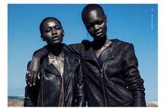 Adeola Ariyo & Alaud Deng for Bwatt Magazine 5th Issue
