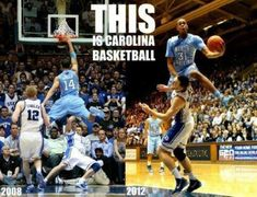UNC just love to beat Duke