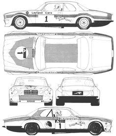 Jaguar XJ12-C blueprint