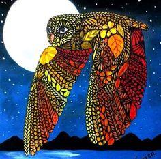 coloring ideas-owl