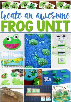 Create an awesome frog life cycle unit for your students with these great kids' activities! Math, science, sensory, literacy and more! So many fun frog theme ideas! Frogs Preschool, Preschool Themes, Science Activities For Kids, Spring Activities, Sequencing Activities, Science Ideas, Preschool Worksheets, Science Projects, Life Cycle Craft
