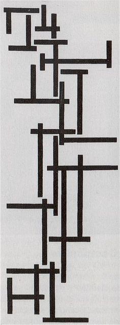 Tarantella by Theo van Doesburg - Theo van Doesburg - Wikimedia Commons