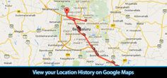 Google records your every move, it keeps history of your travel and locations. Here's how to view