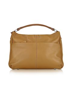 **New arrival** -Pebbled Calf Leather Hobo Bag -   Elegant design and classic Italian style come together in this beautiful hobo bag to create a classic look that remains beautiful season after season. Its lined main compartment offers a zippered and cell phone pocket. Dust bag included. Made in Italy.
