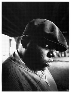 The Notorious B.I.G. // That voice reciting those words.