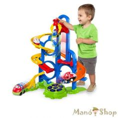Superb Oball Go Grippers Bounce N Zoom Speedway Now at Smyths Toys UK. Toys Land, Toys Uk, All Toys, Kids Store, Toy Store, Activity Toys, Activities, Super Bounce, Toddler Christmas Gifts