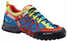 Salewa Wildfire Pro Approach Shoe, UK 8, Flame/Cactus